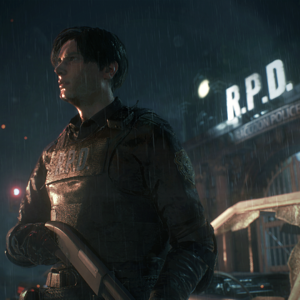 Resident Evil 2 (Remake) - Leon Outside R.P.D.