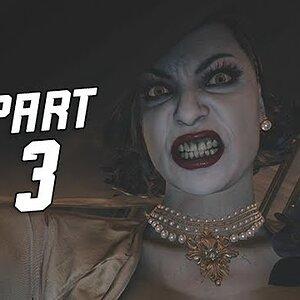 Resident Evil 8 Village Gameplay Walkthrough Part 3 - Lady Dimitrescu (RE8 4K)