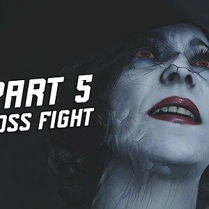 BOSS FIGHT Lady Dimitrescu - Resident Evil 8 Village Gameplay Walkthrough Part 5 -  (RE8 4K)